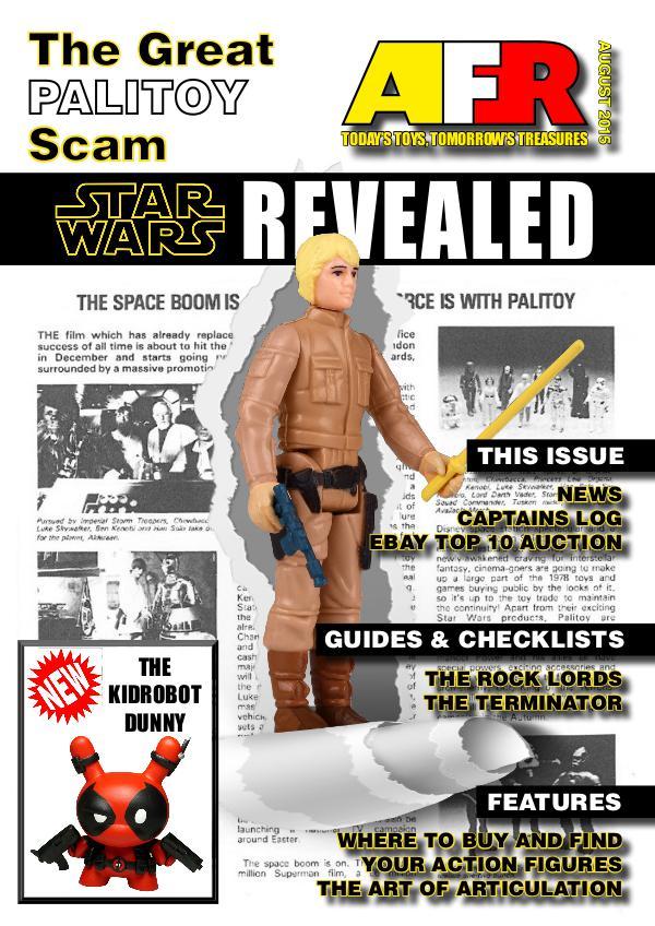 Action Figure Resource Magazine August 2015