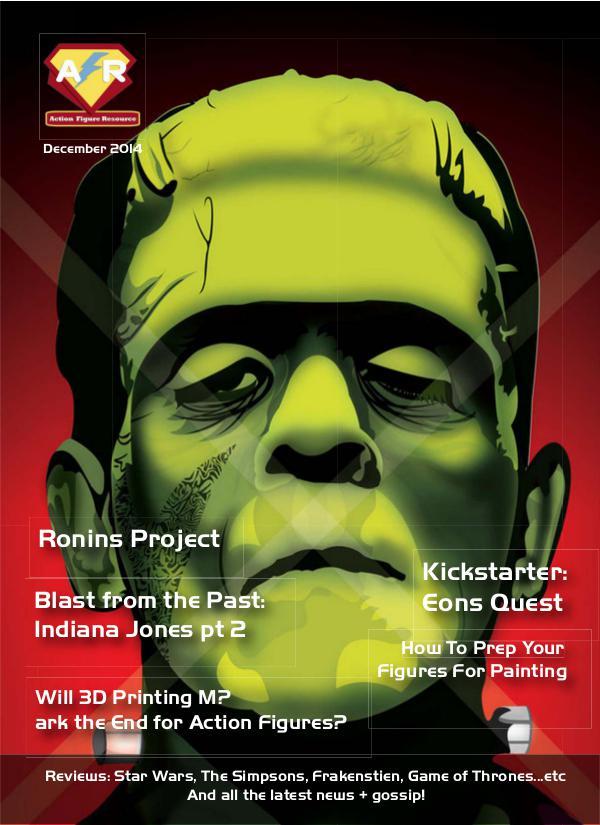 Action Figure Resource Magazine November 2014
