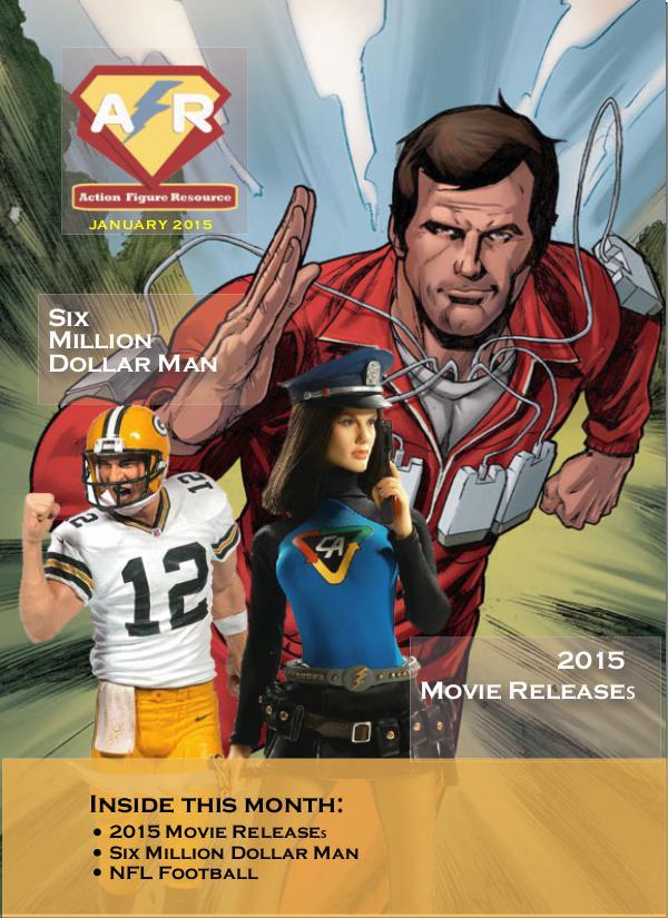 Action Figure Resource Magazine March 2015