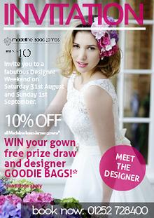 Madeline Isaac-James Designer Weekend at No.10 Bridal Boutique