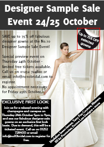 Designer Sample Sale Event Oct 2013