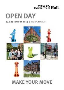 University of Hull Open Day Programme