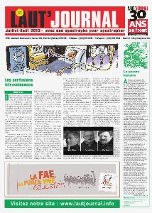 L'aut'journal no 321 - Juillet - Août 2013