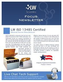 LW Scientific 2013 3rd Quarter Focus Newlsetter