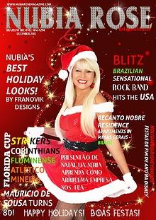 NUBIA ROSE INTERNATIONAL USA BRAZIL LIFESTYLE MAGAZINE