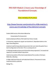 NRS 410V Module 1 Assess your Knowledge of Foundational Concepts (2)