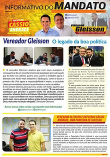 Informativo de Mandato - Vereador Gleisson