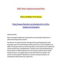 NRS 441v ImplementationPlan