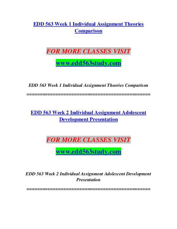 EDD 563 STUDY Imagine Your Future /edd563study.com EDD 563 STUDY Imagine Your Future /edd563study.co