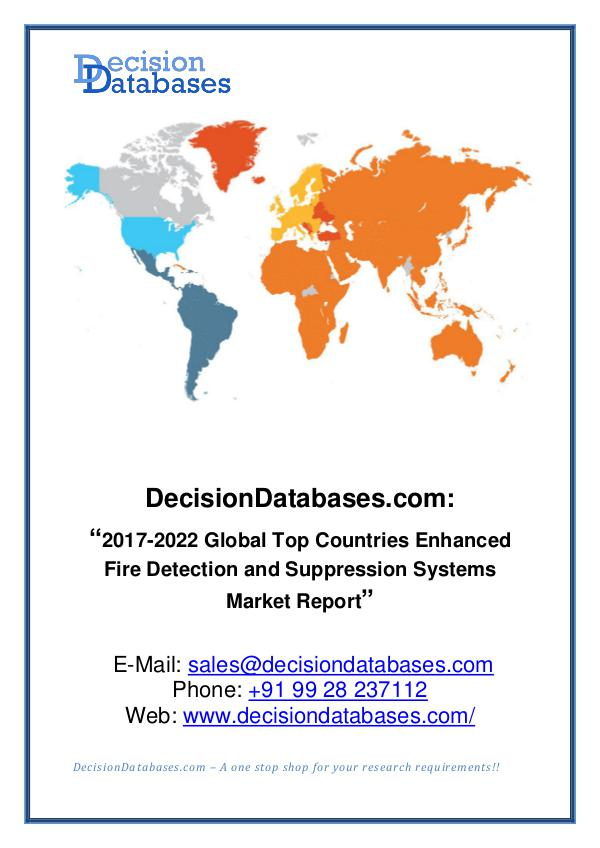 Market Report Global Enhanced Fire Detection and Suppression