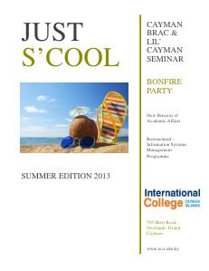 ICCI eMagazine - Summer Edition July 2013