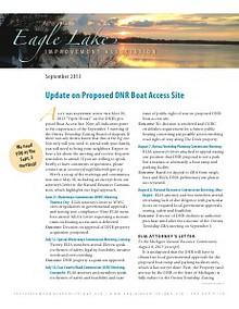 Eagle Lake Improvement Association Newsletter