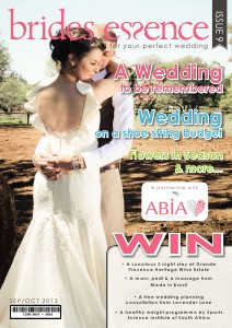 Brides Essence Magazine Sep/October Issue 9 2013