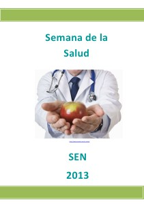 Semana de la Salud SEN 1 2013