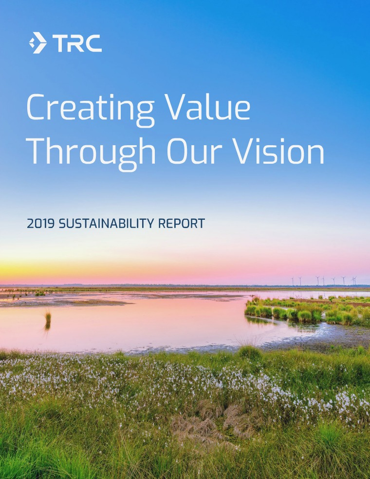 TRC 2019 Sustainability Report TRC 2019 Sustainability Report