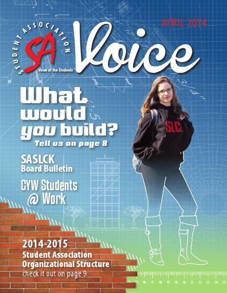 SA Voice April 2014
