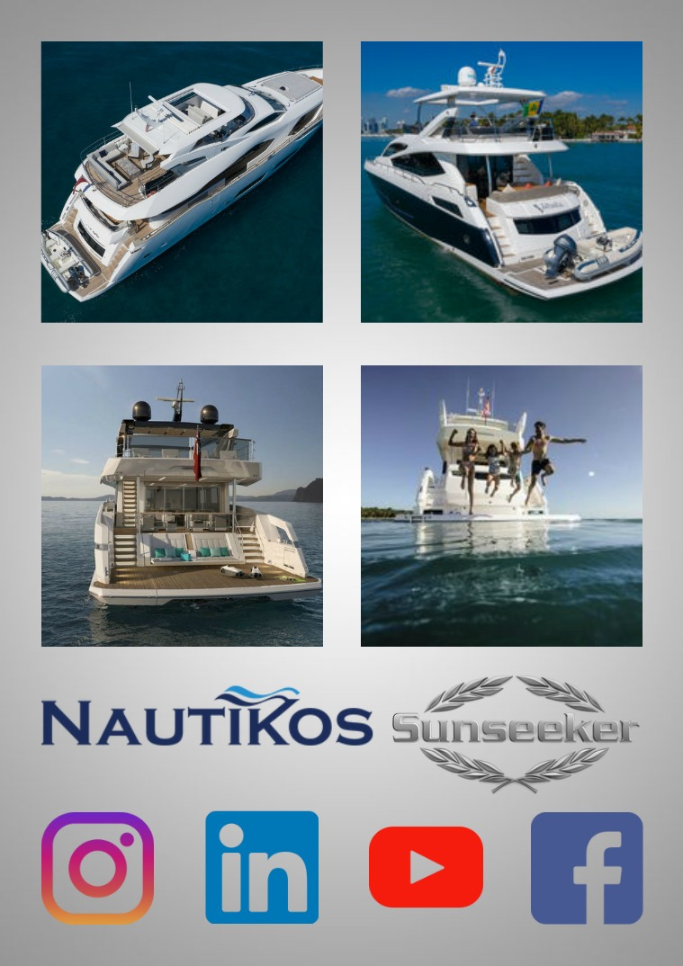 NAUTIKOS | YACHT BROKERAGE NAUTIKOS  | YACHT BROKERAGE & SUNSEEKER DEALER