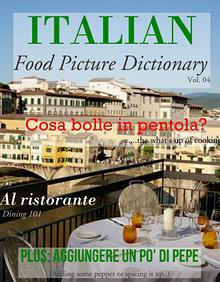 ITALIAN: Food Picture Dictionaries