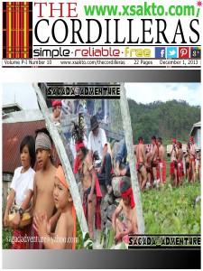 Xsakto: The Cordilleras Vol P-1 No 10