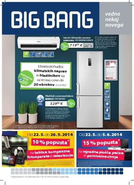 BIG Bang Katalogi (22. 5. do 5. 6. 2014)