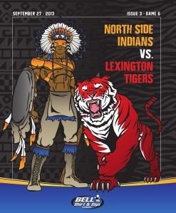 North Side High School Football - Game Program Issue 3