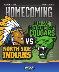 North Side High School Football - Game Program Issue 4