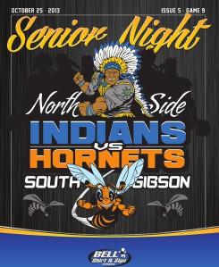 North Side High School Football - Game Program Issue 5