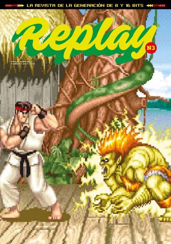 Revista Replay Nº3 · febrero 2017