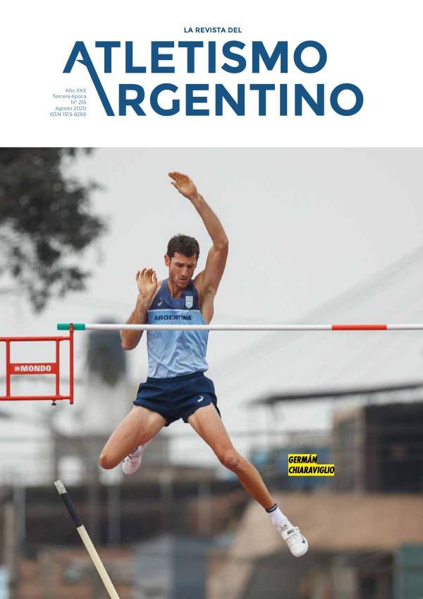 Atletismo Argentino Año XXX Número 218 - Agosto 2020