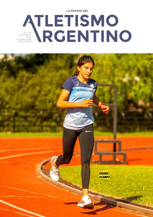 Atletismo Argentino Año XXX Número 221 - Noviembre 2020