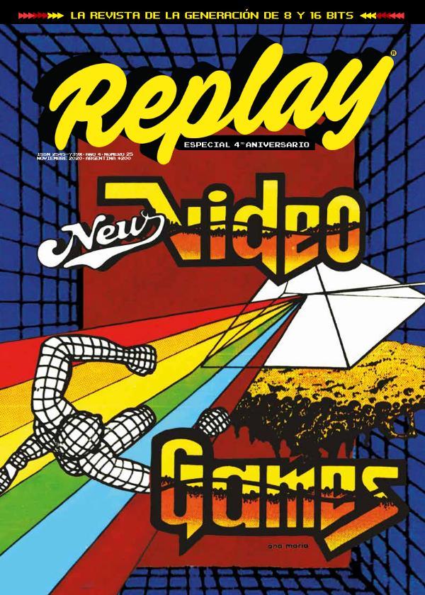 Revista Replay Nº25 · noviembre 2020