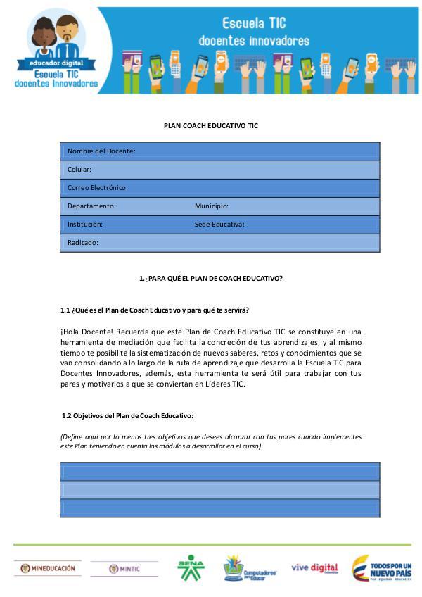 PLAN COACH Plan_Coach_Educativo_TIC revista