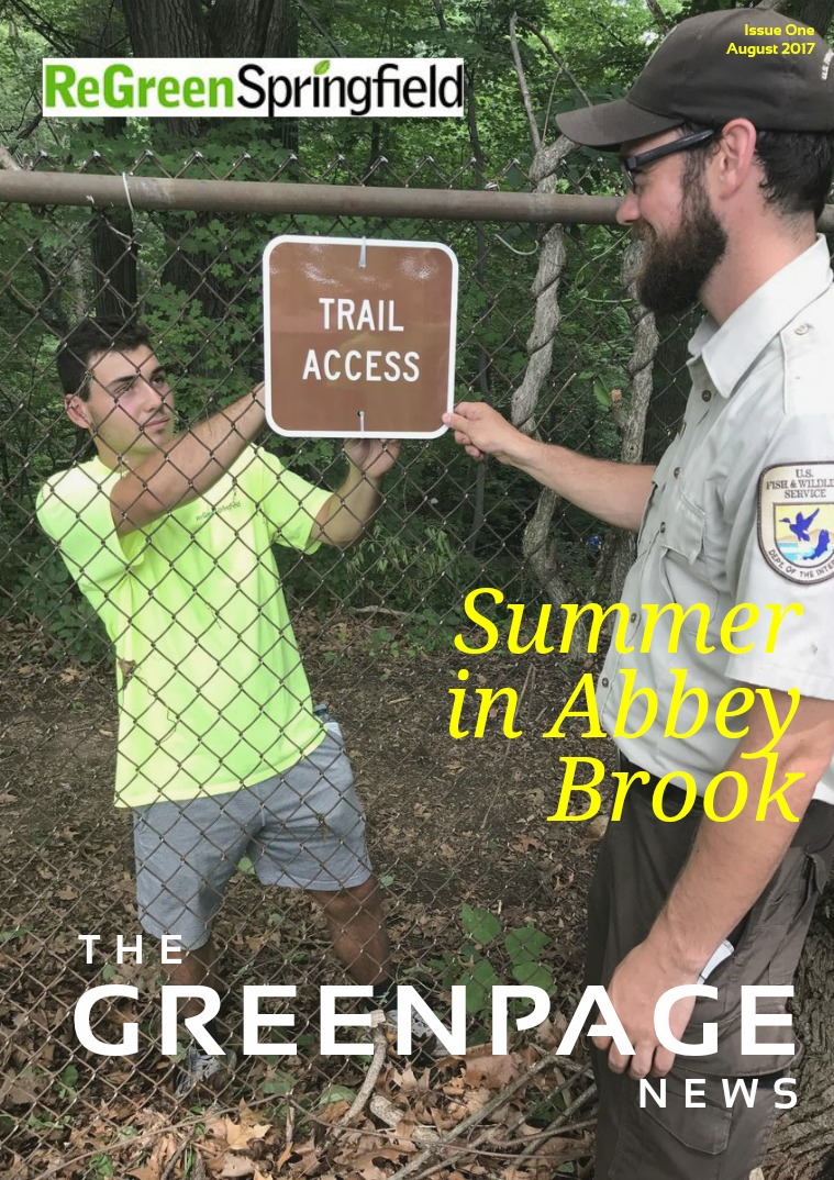 The Greenpage News Volume 1 Summer Issue No. 1