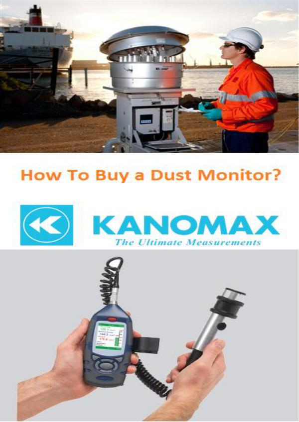 Prompt Readings Hot Wire Anemometer How to purchase a dust monitor?