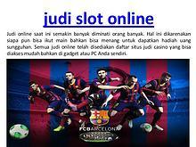 bandar casino online