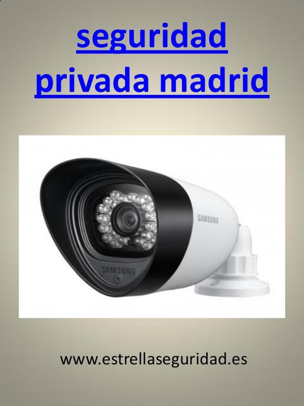 seguridad privada madrid
