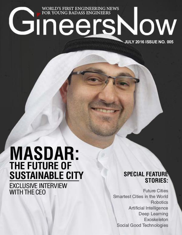 Masdar Smart City and Robotics - GineersNow Engineering Magazine Masdar: The Future of Sustainable City in Abu Dhab