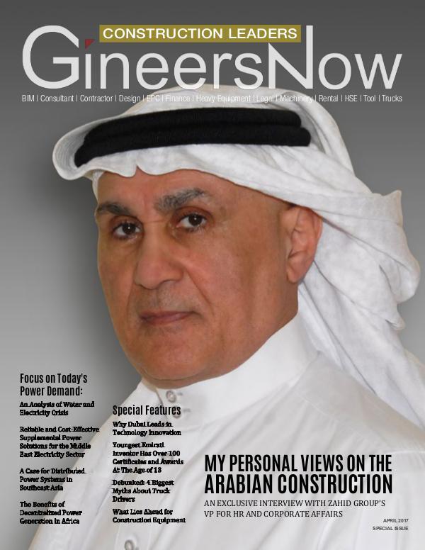 Construction Middle East: Arabian Civil Engineers by GineersNow GineersNow Engineering Magazine Issue No. 014, Sau