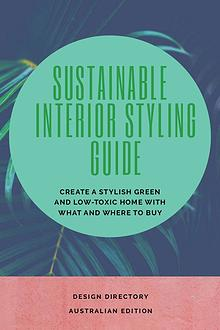Sustainable Interior Styling Guide and Design Directory