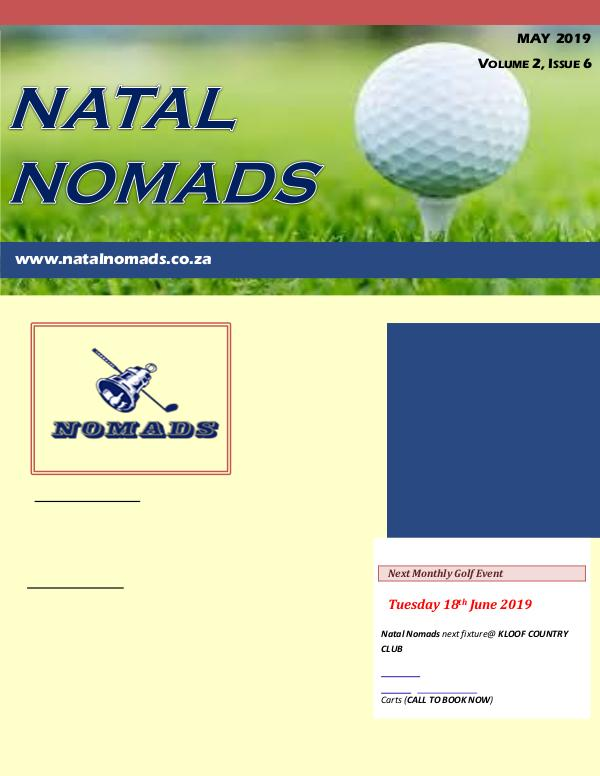 Newsletter Durban Country Club Volume 2 Issue 6 20