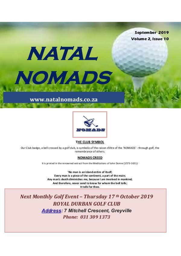 Newsletter Umkomaas Golf Club Volume 2 Issue 10 20