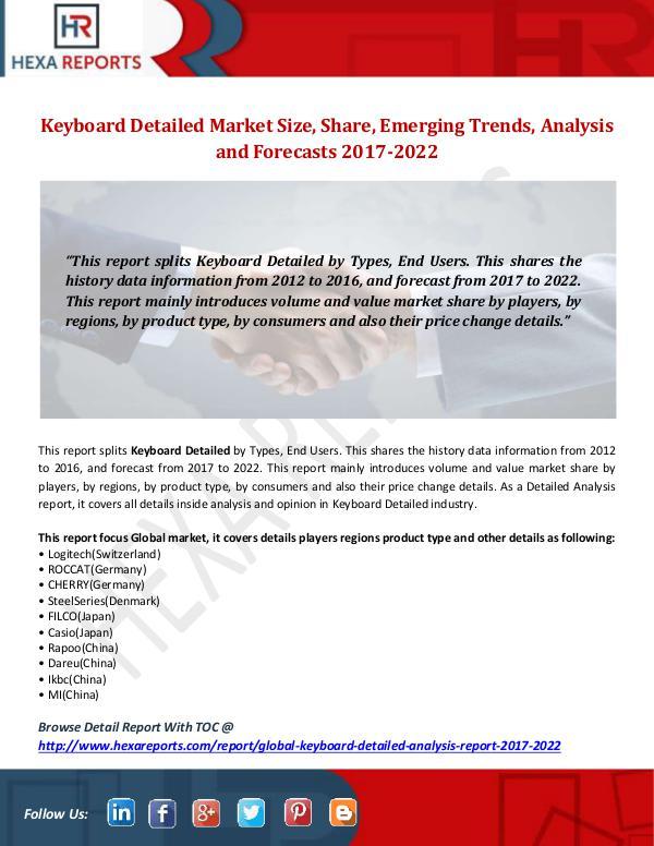 Keyboard Detailed Market