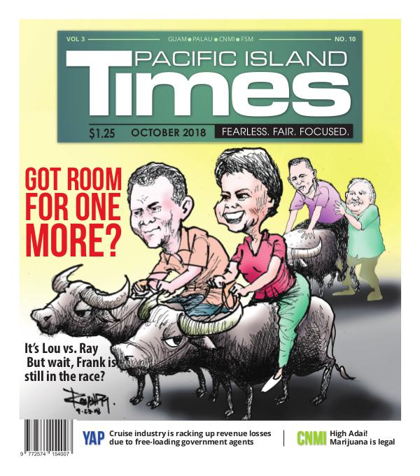Pacific Island Times Vol 3 No. 10 October 2018