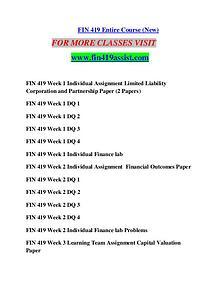 FIN 419 ASSIST Perfect Education/fin419assist.cofi