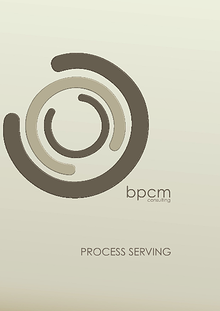 BPCM Process Serving