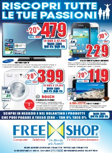 Freeshop Volantino 25/10/2013 - 07/11/2013