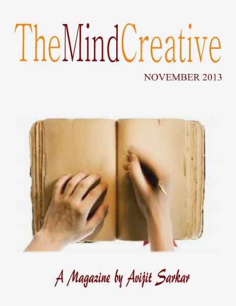 The Mind Creative - NOVEMBER 2013 NOVEMBER 2013