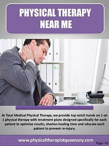 Physical therapist Forest Hills