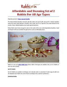 Premium Assortment of Rakhis and Gifts at Rakhi.in