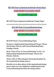 HCS 587 RANK Keep Learning /hcs587rank.com